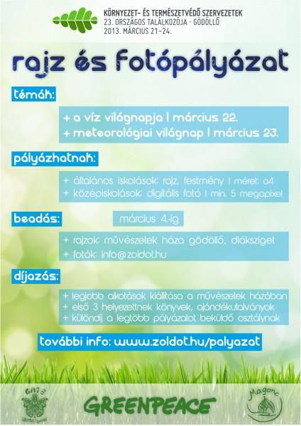 zoldot13_rajzpalyazat_plakat