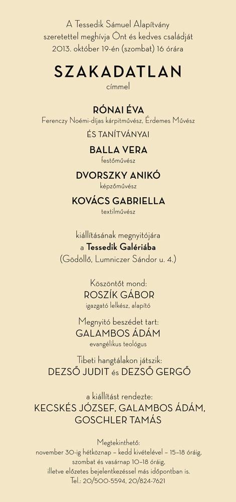 Tessedik-Galéria-2013-10-19-Meghívó