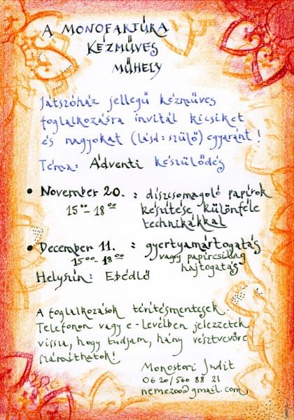 Monofaktúra-2013-Adventi-készülődés