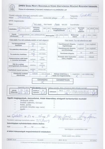 DMRV Tüzivíz hozam mérés Tessedik 2 20140210 PDFA