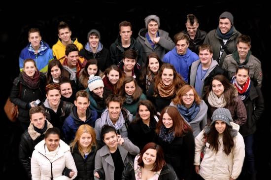 11. osztály 2014. Szólóest a Regiben