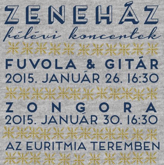 zeneház félévi koncert 2015