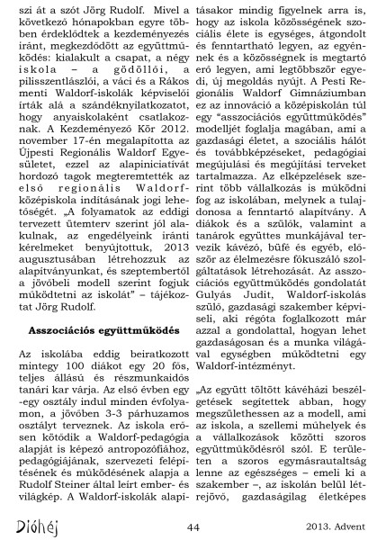 Dióhéj 2013 Advent Regionális Gimnázium_2