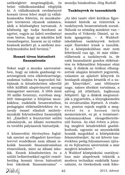 Dióhéj 2013 Advent Regionális Gimnázium_3